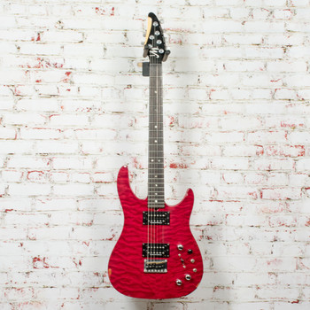 Brian Moore iGuitar 8.13 Midi Capable Guitar Red, Made in Korea x1409 (USED)