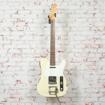 T-Style Electric Guitar Relic White (USED) x8023