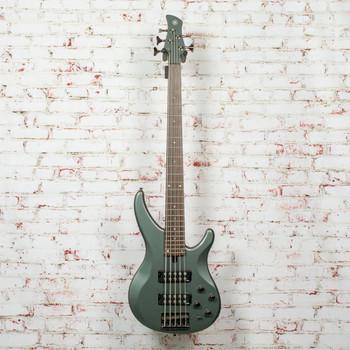 Yamaha TRBX305 5-String Electric Bass Mist Green Rosewood Fretboard x3402 (USED)