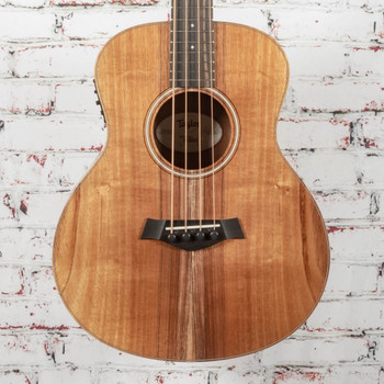 Taylor GS Mini-E Koa Acoustic Electric Bass Natural Koa x1322