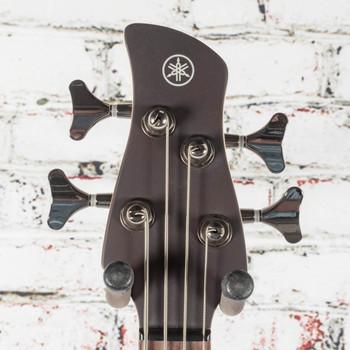 Yamaha TRBX504 TBN Bass Guitar Transparent Brown x3567