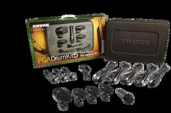 Shure PGA Drumkit 5 Five-Piece Mic Kit