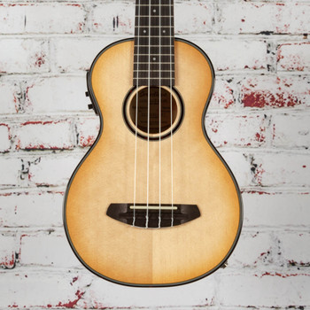 Breedlove B-Stock Lu'au Concert Uke Nat Shadow Acoustic Electric E Myrtlewood x1641