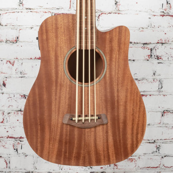 Gold Tone M-Bass25FL 25-Inch Scale Fretless Acoustic-Electric MicroBass with Gig Bag x1028