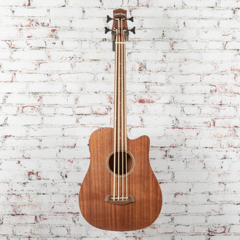 Gold Tone M-Bass25FL 25-Inch Scale Fretless Acoustic-Electric MicroBass with Gig Bag x1030