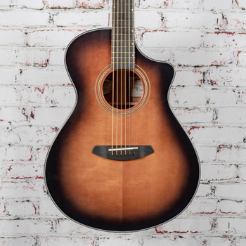 Breedlove B-Stock Performer Concert Bourbon Acoustic Electric CE Torrefied European Spruce/African Mahogany x9272