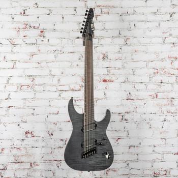 LTD by ESP M-1007 Multi-Scale - See Thru Black Satin Electric Guitar x1011