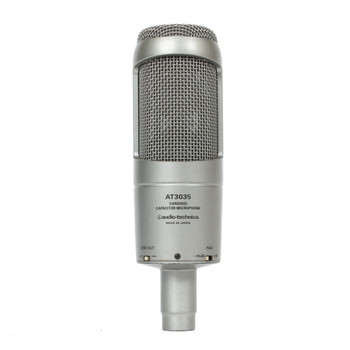Audio-Technica AT3035 Large Diaphragm Condenser Mic (USED) x2100