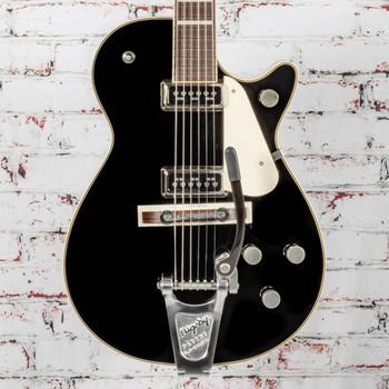 Gretsch G6128T-53 Vintage Select '53 Duo Jet™ w/Bigsby® Electric Guitar, TV Jones®, Black x1046