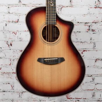 Breedlove B-Stock Jeff Bridges Amazon Concert Sunburst CE Spruce/Mahogany x0135