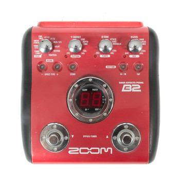 Zoom B2 Bass Multi-FX Pedal (USED) x1320