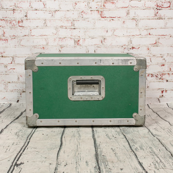 6-Space Rack Case Green (USED) x3192