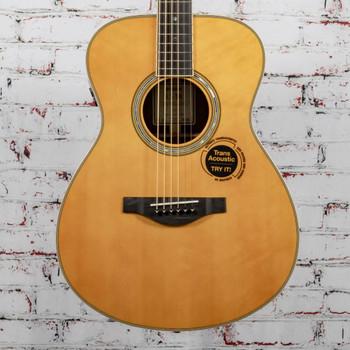 Yamaha C-Stock LS-TA Concert Body Trans Acoustic Electric Guitar- Vintage Tint x0265