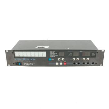 360 Systems Audio Matrix 16 Switcher Rackmount (USED) x710#