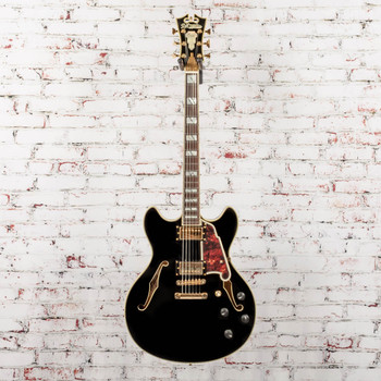 D'Angelico B-Stock Excel DC Electric Guitar Stopbar- Black x2559