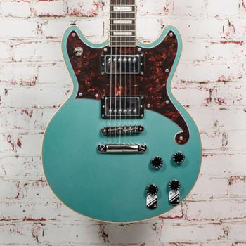 D'Angelico B-Stock Premier Brighton Electric Guitar - Ocean Turquoise x7777