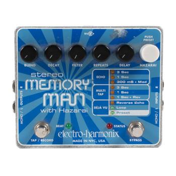 Electro-Harmonix Stereo Memory Man with Hazari Delay and Looper Pedal (USED) x2294