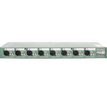 Radial PRO-D8, 8-Channel Rack Direct Box x3510 (USED)