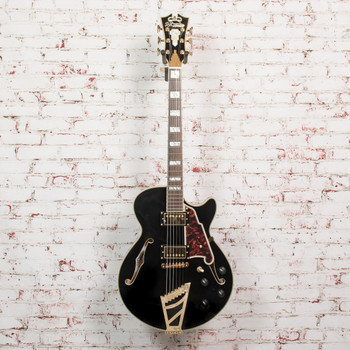 D'Angelico B-Stock Excel SS Electric Guitar - Black x2952