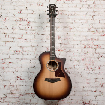 Taylor 314CE LTD Quilted Sapele & Torrefied Sitka x1101