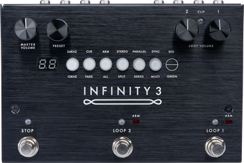 Pigtronix Infinity 3 Hi-Fi Stereo Double Looper Pedal