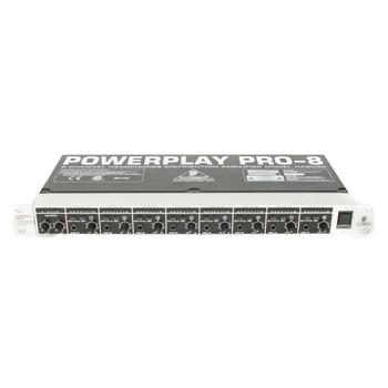 Behringer Powerplay Pro 8-Channel Headphone Amp Rackmount (USED) x1185