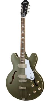 Epiphone Casino Worn Electric Guitar Worn Olive Drab