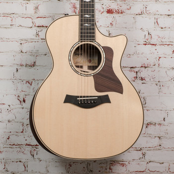 Taylor 814ce Grand Auditorium Acoustic Electric Guitar Natural x1109