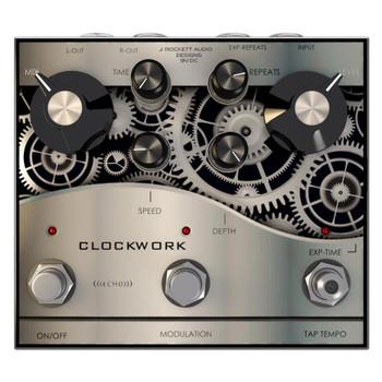 J. Rockett Clockwork Echo Delay Pedal