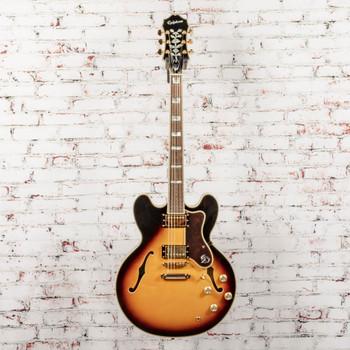 Epiphone Sheraton-II Pro Hollowbody Electric Guitar Vintage Sunburst x4318