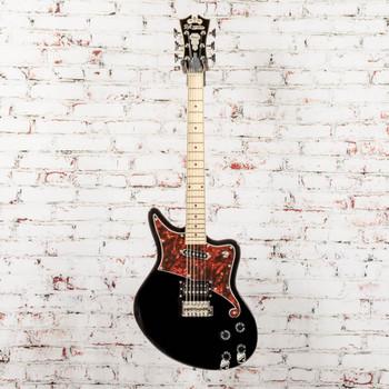 D'Angelico B-Stock Premier Bedford Electric Guitar Tremolo - Black x1811