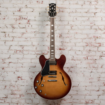 Gibson ES-335 Figured Left-Handed - Iced Tea x0378