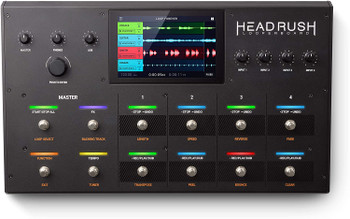 HeadRush Looperboard   4-In/4-Out Looper w/ Intelligent Time-Stretch, Built-In FX, 7-inch Touchscreen