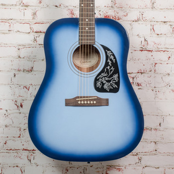 Epiphone Starling Acoustic Guitar Starter Pack - Starlight Blue x2470