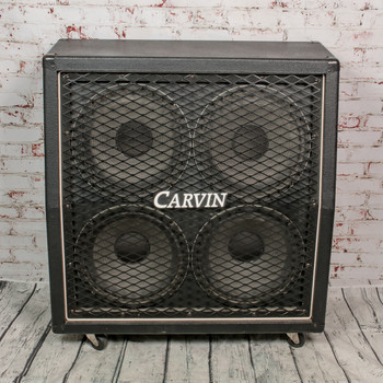 Carvin V412-C Guitar Cab w/ Celestion UK Seventy '80 speakers and cover 16 Ohm x8404 (USED)