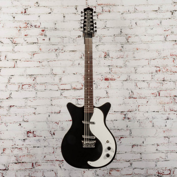 Danelectro 59 12 STRING BLACK Electric Guitar x7716