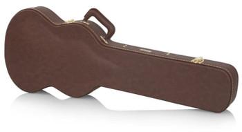 Gator Gibson SG® Guitar Deluxe Wood Case, Brown