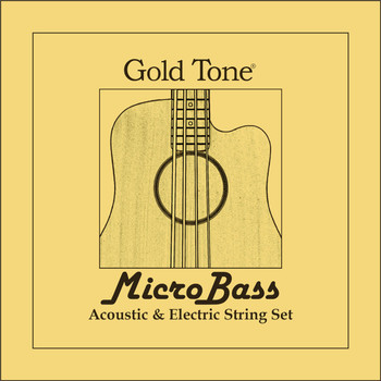 Gold Tone MBass Rubber/Polymer Strings