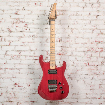 1981 Kramer Pacer Imperial Electric Guitar Trans-Red x5105 (USED)