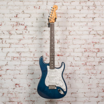 Fender Cory Wong Stratocaster®, Rosewood Fingerboard, Sapphire Blue Transparent x2986