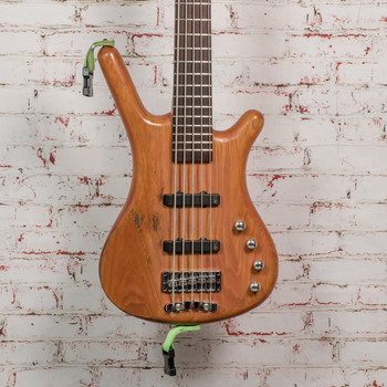 Warwick Corvette 5 5-String Electric Bass Natural x02-09 (USED)