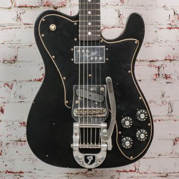 Fender Custom Shop LTD 70'S Telecaster Custom Journeyman Relic In Black x2693