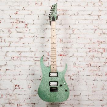 Ibanez RG421MSP RG Series Electric Guitar Turquoise Sparkle x7624