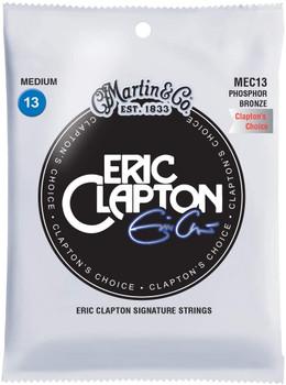 Martin Guitar Eric Clapton's Choice MEC13, 92/8 Phosphor Bronze Medium-Gauge Acoustic Guitar Strings
