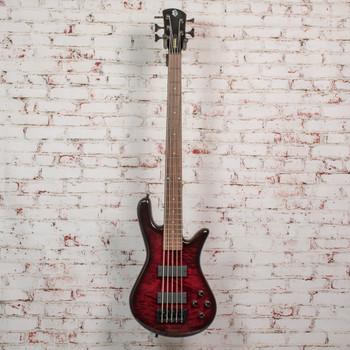 Spector B-Stock Legend 5 Classic Bass Guitar - Black Cherry Gloss x1149