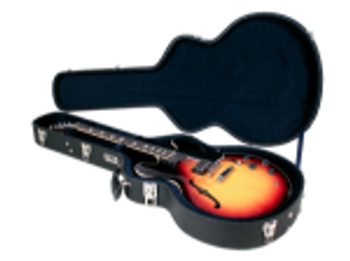 TKL Cases TKL 8855 LTD Arch-Top Hard Case for Semi-Acoustic, Jazz, and 335-Style Guitar