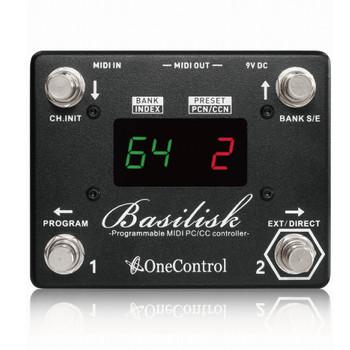 One Control Basilisk Programmable MIDI Pedal - 5PC#, 5CC#