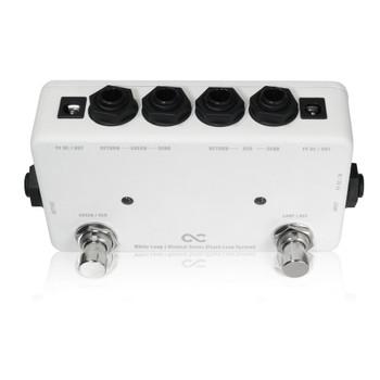 One Control Minimal Series White Loop - 2 Ch. Loop Flash Switcher