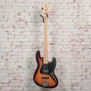 Fender Deluxe Active Jazz Bass® Electric Bass, Maple Fingerboard, 3 Color Sunburst x2789