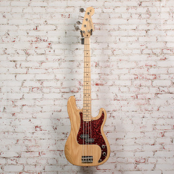 Vintage Precision Bass Natural Maple with Case x8951 (USED)